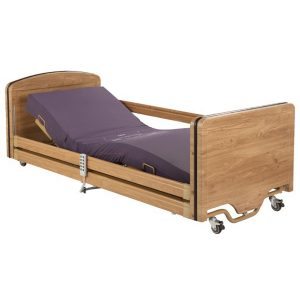 Elite low height care home bed picture